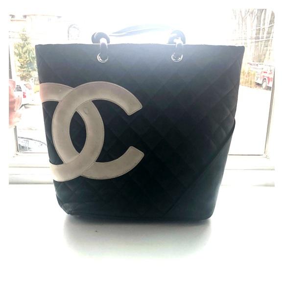 cc760ccd2b06 CHANEL Handbags - Authentic Chanel Cambon Tote